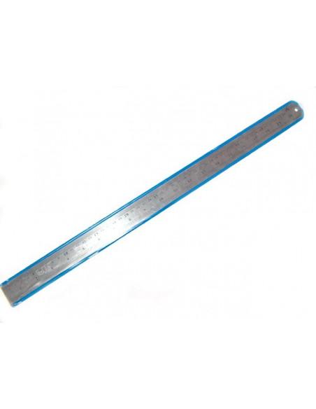 Линейка металлическая двусторонняя 1000 мм